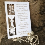 Chalis Communion Laser Cut Card